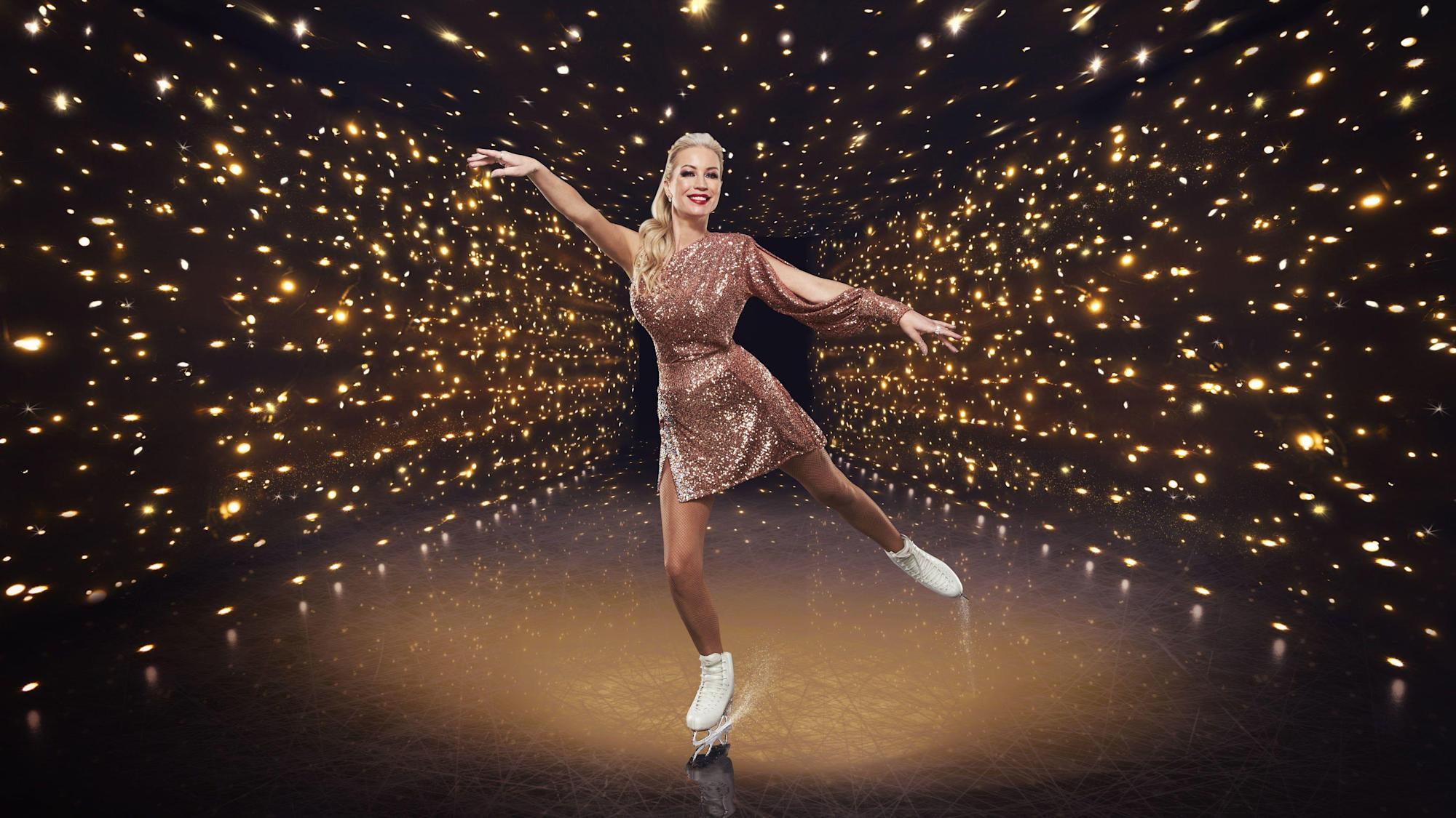 Denise Van Outen withdraws from Dancing On Ice after injury