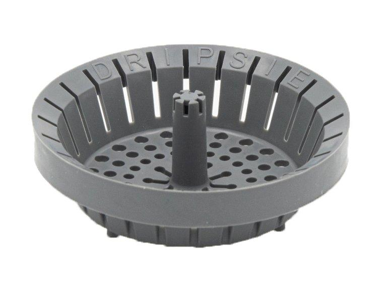 """<p>This strainer keeps food out of your kitchen drain, sure, but its best feature is its flexible plastic material: When it's time to empty the strainer, you can squeeze everything out of it, keeping your hands cleaner—no scraping necessary.</p> <p><strong>To buy: </strong>$13 for two; <a href=""""https://click.linksynergy.com/deeplink?id=93xLBvPhAeE&mid=38396&murl=http%3A%2F%2Fwww.thegrommet.com%2Fproducts%2Fdripsie-anti-clog-sink-strainer-2-pack&u1=RS%2C6CleverItemstoSimplifyYourLife%25281%252F3%252F20%2529%2Clphillips1271%2CLIF%2CIMA%2C688325%2C202001%2CI"""" target=""""_blank"""">thegrommet.com.</a></p>"""