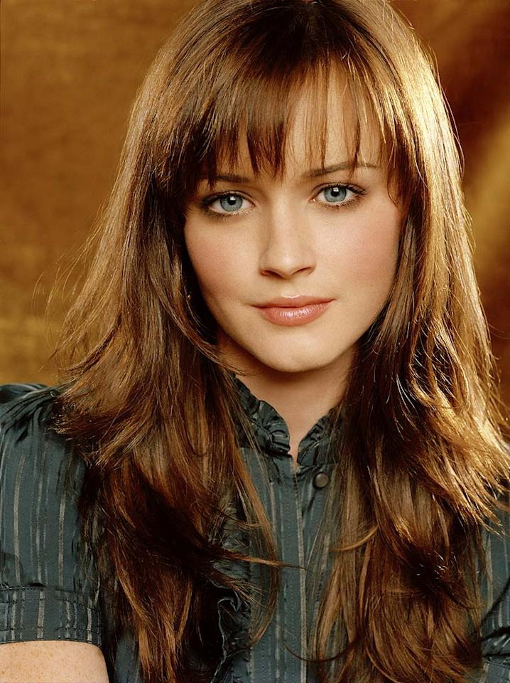 Alexis Bledel stars as Rory Gilmore in Gilmore Girls on The CW.