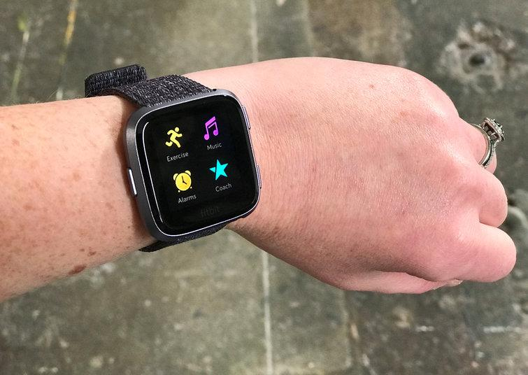 Fitbit's Versa feels much more comfortable on my wrist than the Ionic did.