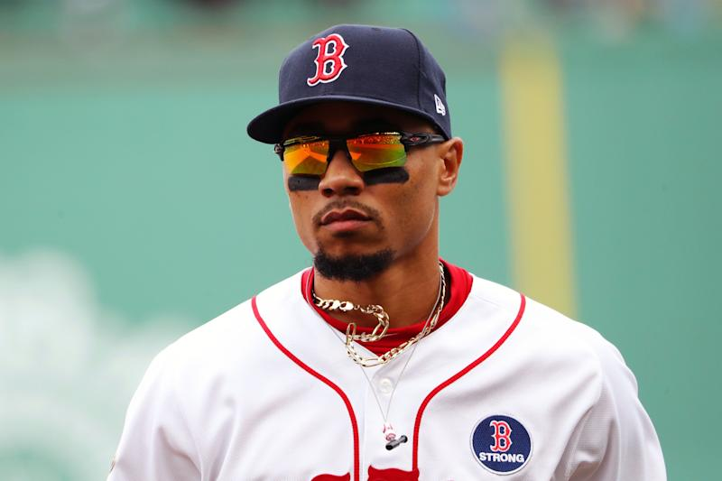 Mookie Betts Red Sox.