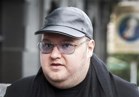 Megaupload founder Dotcom arrives at the New Zealand Court of Appeals in Wellington