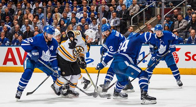 The Bruins have easily been the most dominant team, but that doesn't much in a Game 7. (Photo by Mark Blinch/NHLI via Getty Images)