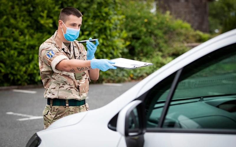 Army drafted in to help with Covid response in Tier 3 areas to combat a second peak of infections