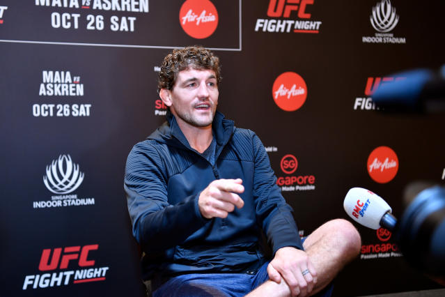 Ben Askren is retiring from MMA. (Photo by Jeff Bottari/Zuffa LLC via Getty Images)