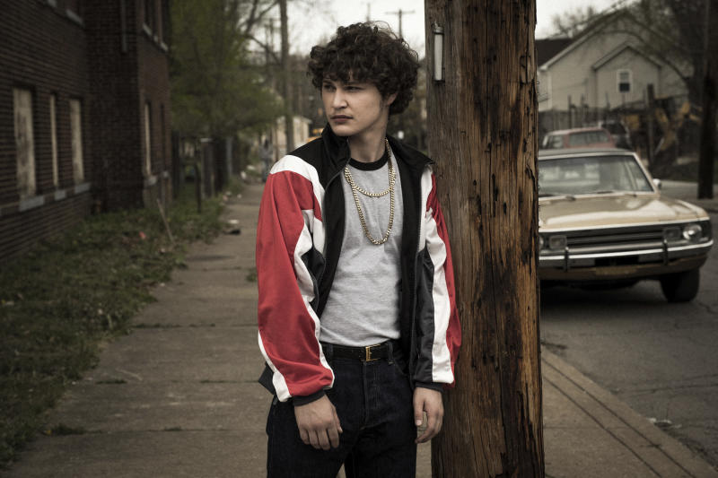 """This image released by Sony Pictures shows Richie Merritt in a scene from """"White Boy Rick."""" (Scott Garfield/Sony/Columbia Pictures and Studio 8 via AP)"""