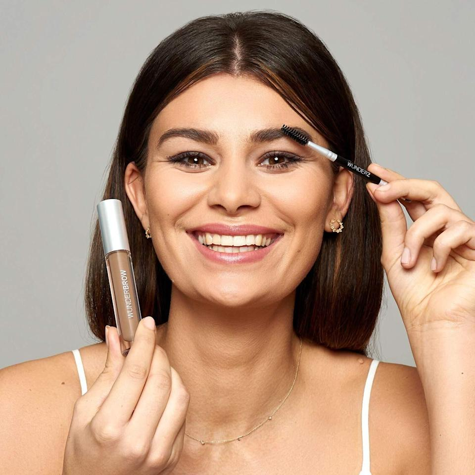 """You may have seen this on """"Shark Tank"""" and been considering ever since. 'Tis time.<br /><br /><strong>Promising review:</strong>""""I love this stuff! I'm one of those people who over-plucked in the past and now can't get the thick eyebrows I once hated back. It does take practice and a little trial and error to get the perfect brow. I usually keep a Q-tip handy and sometimes have to reshape after I apply. It is waterproof and lasts a few days. I am careful in the shower when washing my face to wash around the brows. Photos are me out for a jog without anything on my brows, second is after delivering my baby — yes. After my water broke, I took a shower and applied my Wunderbrow! Lasted through 12 hours of labor and three days in the hospital. =)"""" —<a href=""""https://www.amazon.com/gp/customer-reviews/R1LBYZ99ZUCABU?&linkCode=ll2&tag=huffpost-bfsyndication-20&linkId=0e8ec8f5f25cd06fe90c8e627c56ab6f&language=en_US&ref_=as_li_ss_tl"""" target=""""_blank"""" rel=""""noopener noreferrer"""">Tiffany Haney</a><br /><br /><strong>Get it from Amazon for <a href=""""https://www.amazon.com/dp/B00UYY2GSQ?&linkCode=ll1&tag=huffpost-bfsyndication-20&linkId=5e6f092823d9788a13302b904f57cd1d&language=en_US&ref_=as_li_ss_tl"""" target=""""_blank"""" rel=""""noopener noreferrer"""">$22</a> (available in four colors).</strong>"""
