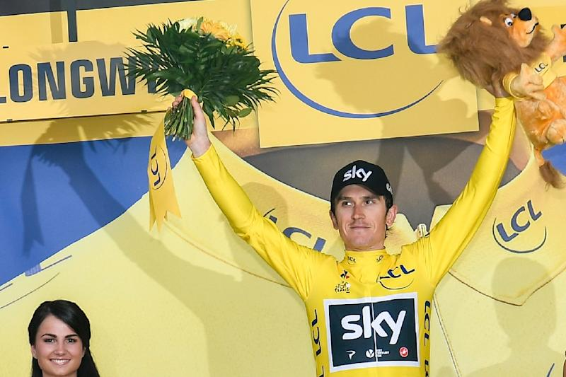 Froome seizes yellow jersey, Porte within striking distance