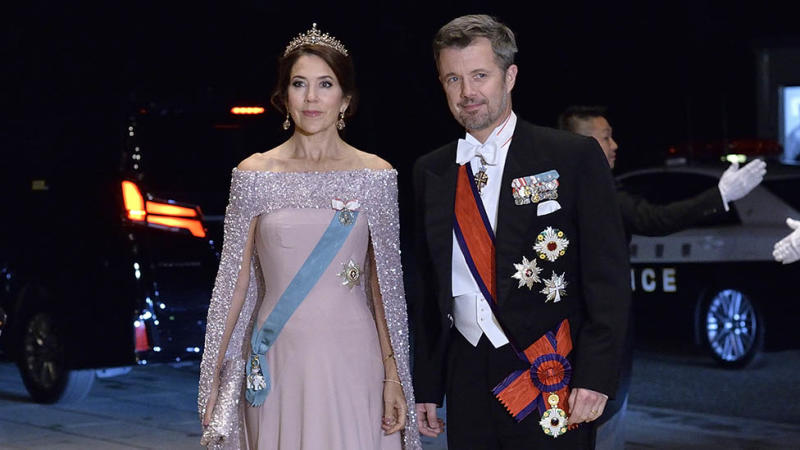 Princess Mary of Denmark and Prince Frederick