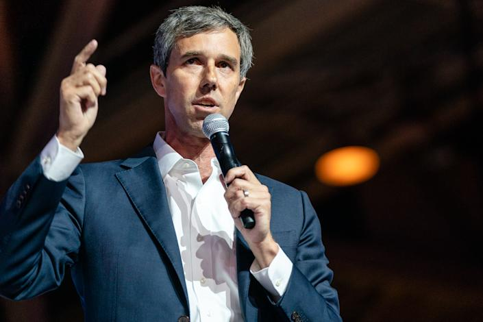 Beto O'Rourke speaks at the 25th Essence Festival at Ernest N. Morial Convention Center on July 06, 2019 in New Orleans, Louisiana.   Josh Brasted—FilmMagic