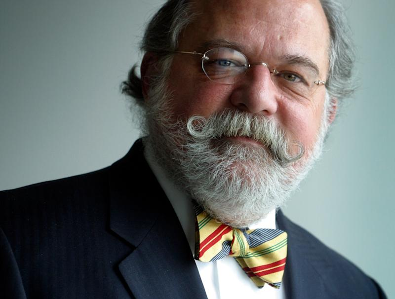Corporate attorney Ty Cobb in the offices of his law firm, Hogan & Hartson, Jan. 16, 2004.