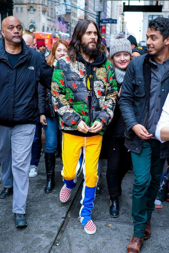 """<p>For some reason, Jared Leto just seems ... tall. Maybe it's the long hair and lanky body. Not that 5'9"""" is short (the author writes, nervously).</p>"""