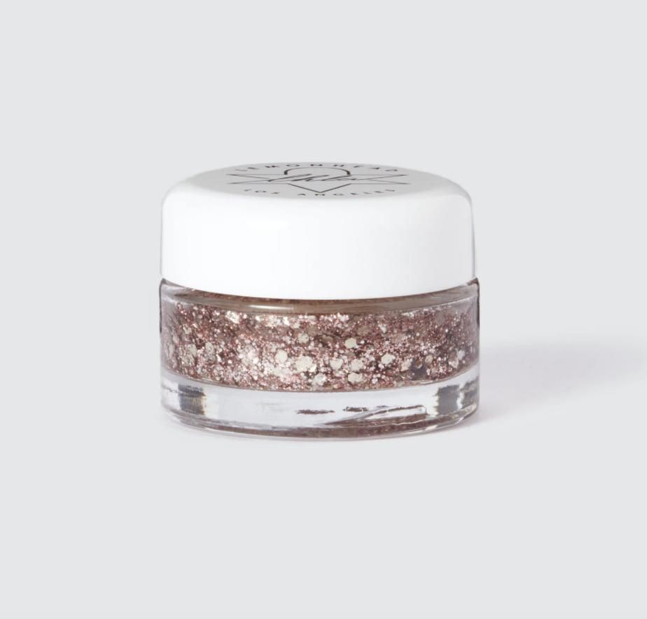 <p>Make their face dazzle with this <span>LEMONHEAD.LA Melrose Spacejam Glitter Balm</span> ($28).</p>