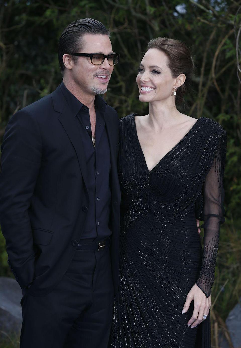 <p>The couple made it official in August 2014. They held a small, private ceremony in France with their children.</p>