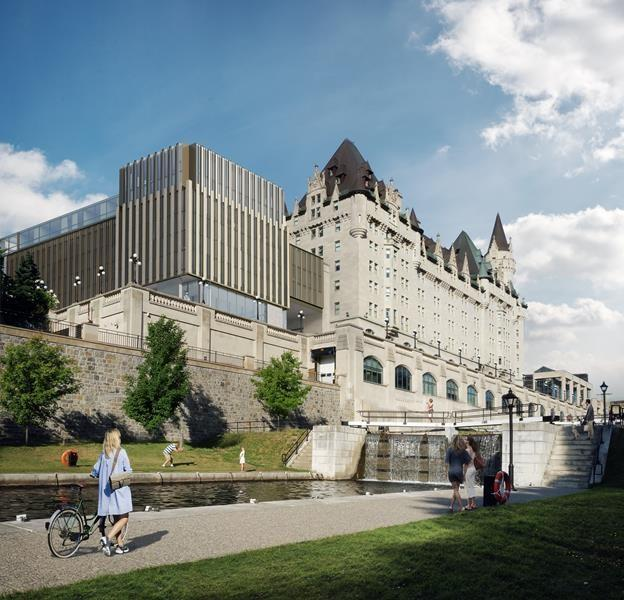 Controversial Chateau Laurier expansion not good enough, McKenna says
