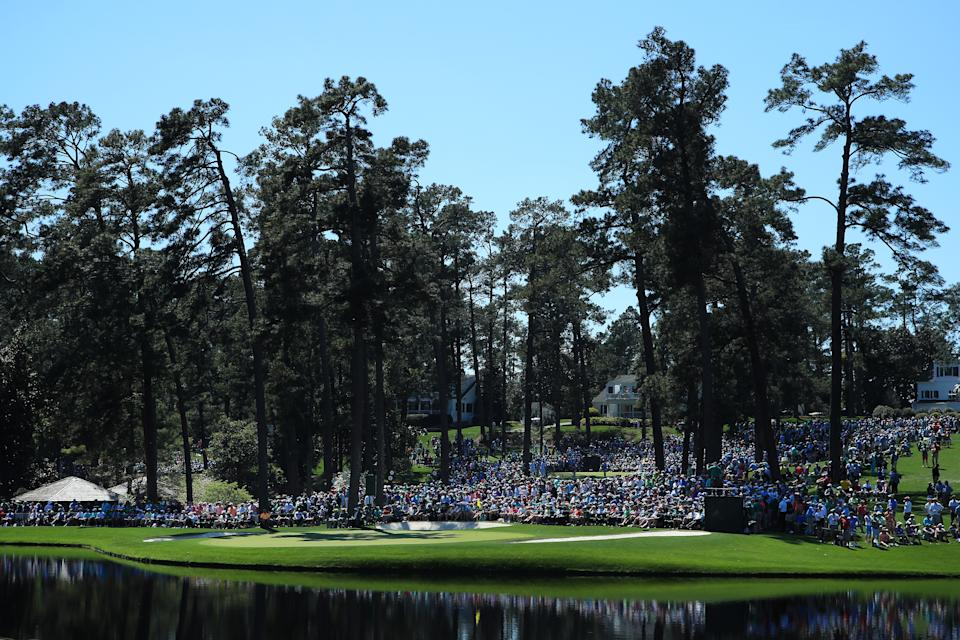 College GameDay will overlook Ike's Pond and the Par 3 course ... without patrons in attendance, of course. (Andrew Redington/Getty Images)
