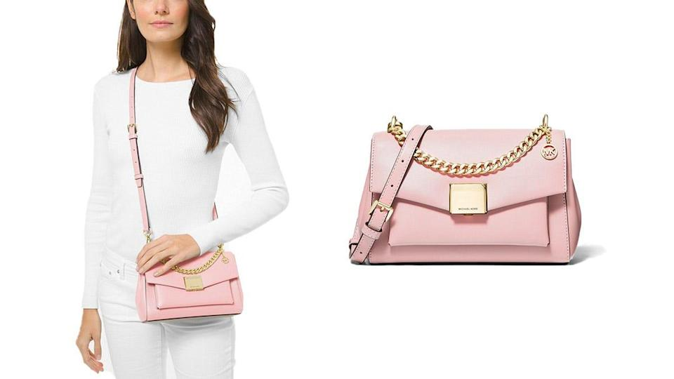 This chic crossbody is 69% off during the Michael Kors Summer Lovin' sale.