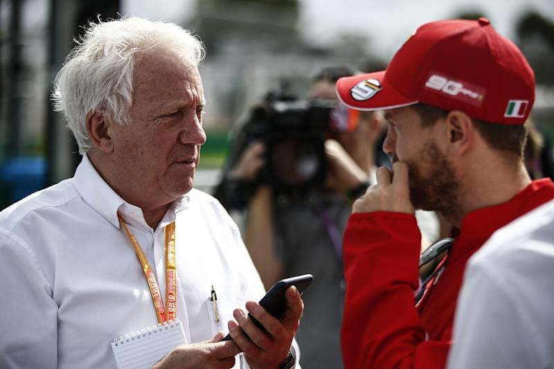 Charlie Whiting Gallery: FIA F1 Race Director Charlie Whiting Dies Ahead Of