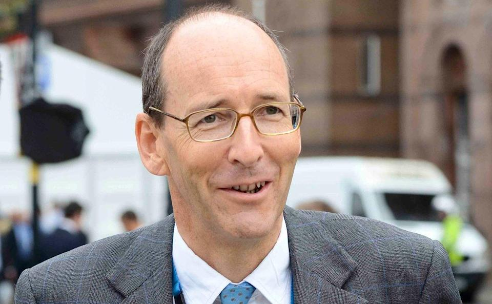 Lord Tyrie of Chichester, the former chairman of the Competition and Markets Authority - Steve Back