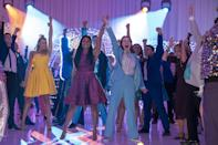 """<p>After the PTA bans high-school student Emma Nolan's girlfriend from going to prom, a group of Broadway stars come to town and shake things up. Watch <strong><a href=""""http://www.netflix.com/title/81079914"""" class=""""link rapid-noclick-resp"""" rel=""""nofollow noopener"""" target=""""_blank"""" data-ylk=""""slk:The Prom"""">The Prom</a></strong> on Netflix now.</p>"""