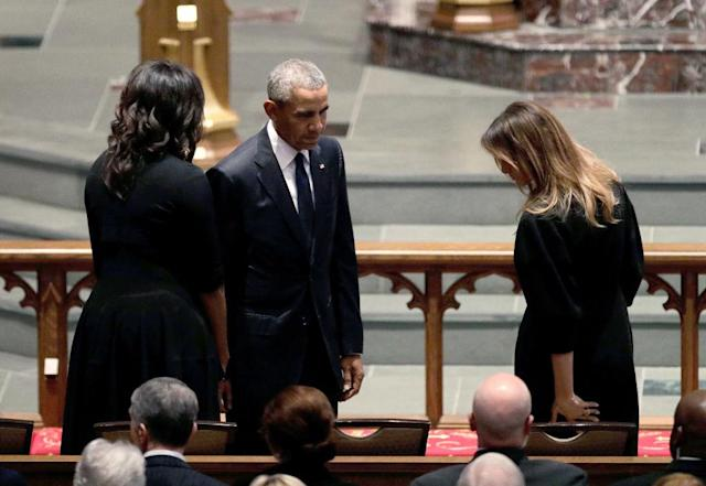 Former President Barack Obama and former first lady Michelle Obama (Photo: AP Photo/David J. Phillip )