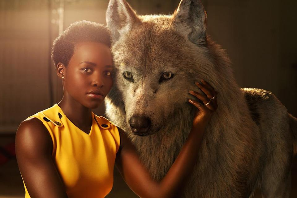 "<p>The Oscar winner from <i>12 Years a Slave </i>voices the wolf who becomes Mowgli's adoptive mother. ""Lupita has tremendous depth of emotion in her performance,"" <a href=""http://www.vulture.com/2016/02/jon-favreau-on-the-subtle-beauty-of-jungle-book.html"" rel=""nofollow noopener"" target=""_blank"" data-ylk=""slk:Favreau told Vulture in February."" class=""link rapid-noclick-resp"">Favreau told Vulture in February.</a> ""There's an emotional underpinning she brings, and a strength, and we wanted that for this surrogate mother.""</p>"
