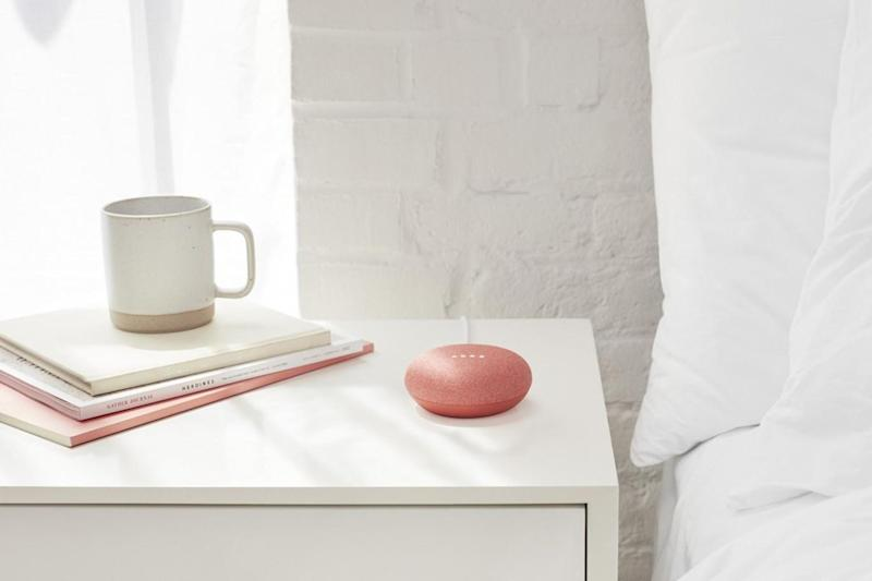 The Google Home Mini can read the headlines, tell you the weather forecast, and fill you in on your meetings for that day (Google)