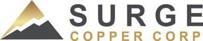 Surge Copper Corp. Logo (CNW Group/Surge Copper Corp.)