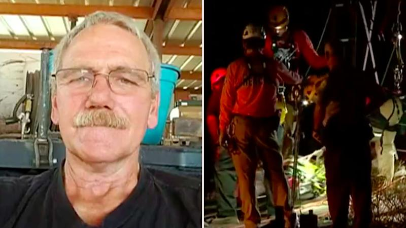 Man trapped in Arizona mine shaft for days, rescued