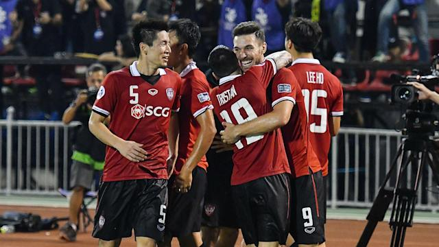 Thai side Muangthong United continued their season of history-making with a win over Ulsan that put them top of Champions League Group E.
