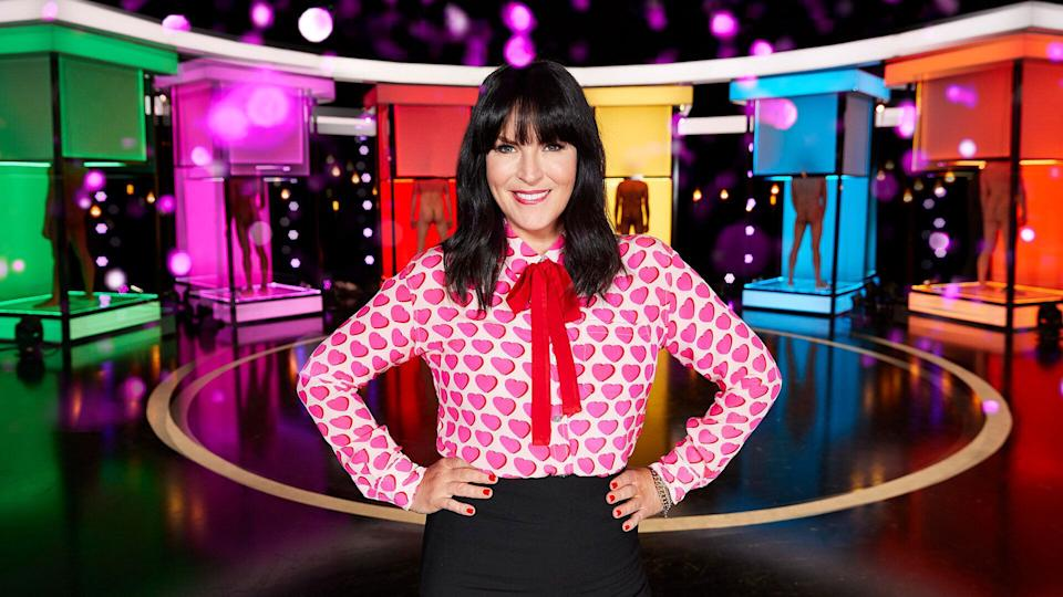 Anna Richardson on the set of Naked Attraction (Photo: Channel 4)