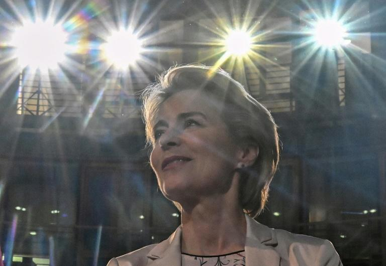 Von der Leyen said Europe needs to bulk up