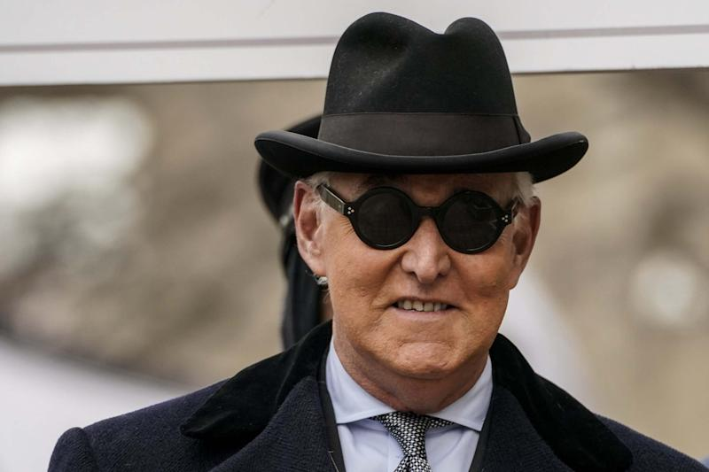 Roger Stone earlier this year (Getty Images)