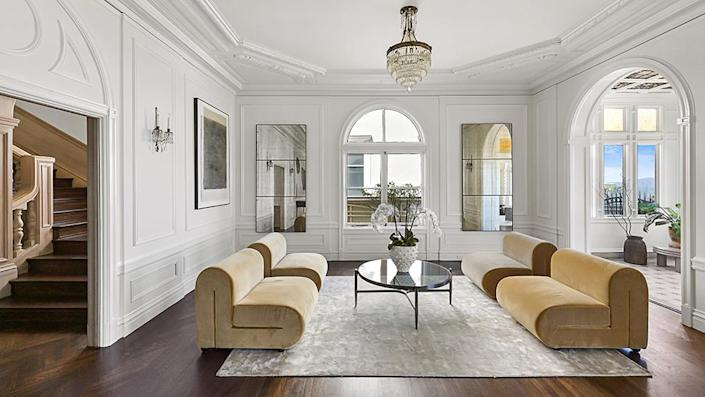The main living room., - Credit: Photo: Courtesy of Lunghi Media Group for Sotheby's International Realty