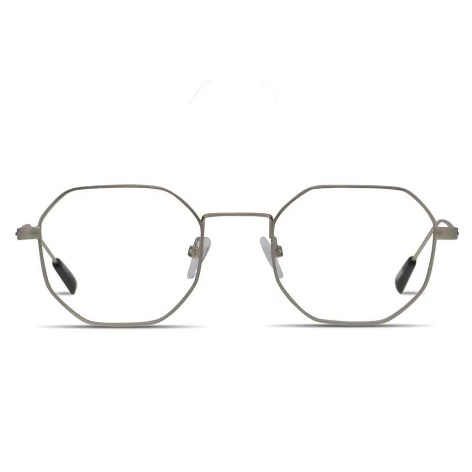 """<p><strong>Ottoto</strong></p><p>glassesusa.com</p><p><strong>$74.00</strong></p><p><a href=""""https://go.redirectingat.com?id=74968X1596630&url=https%3A%2F%2Fwww.glassesusa.com%2Fsilver-small%2Fottoto-otho%2F35-001764.html&sref=https%3A%2F%2Fwww.bestproducts.com%2Fmens-style%2Fg33594937%2Fstylish-glasses-frames-for-men%2F"""" rel=""""nofollow noopener"""" target=""""_blank"""" data-ylk=""""slk:Shop Now"""" class=""""link rapid-noclick-resp"""">Shop Now</a></p><p>These octagonal frames are seriously the best glasses for men who love a statement accessory. The lightweight metal makes these eyeglasses great for everyday wear, and the unique geometric shape will add a pop of personality to any guy's face.</p>"""