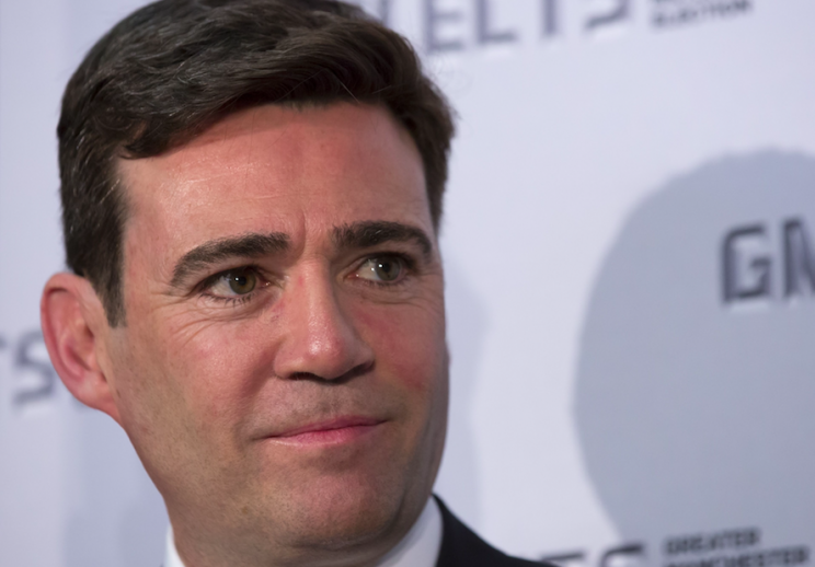 Manchester mayor Andy Burnham has been urged to investigate (Rex)