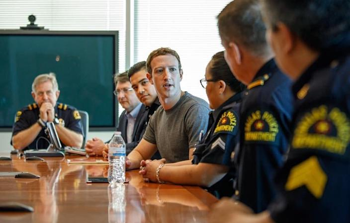 while in dallas he also met local police officers these officers do such important work and it meant a lot to me to be able to thank them in person he wrote on his facebook page