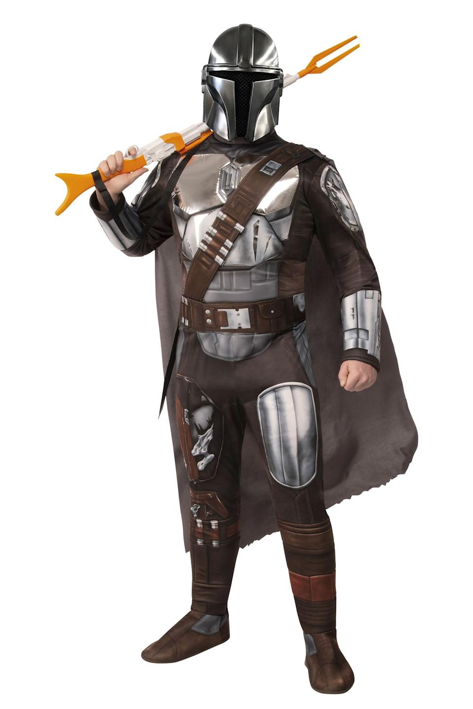 Mandalorian Beskar Armor Men's Costume. Photo via halloweencostumes.com