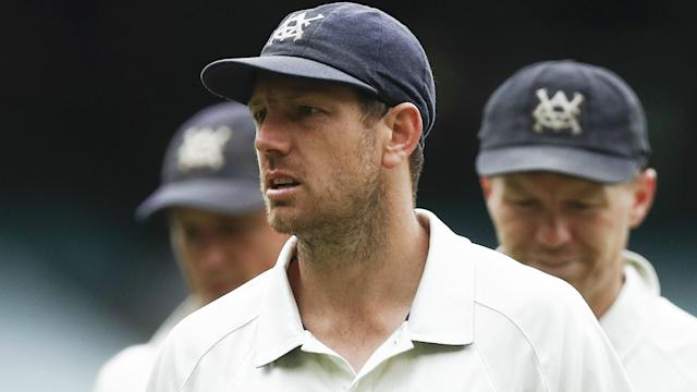 Australia and Victoria bowler James Pattinson is ineligible for the series opener against Pakistan in Brisbane.