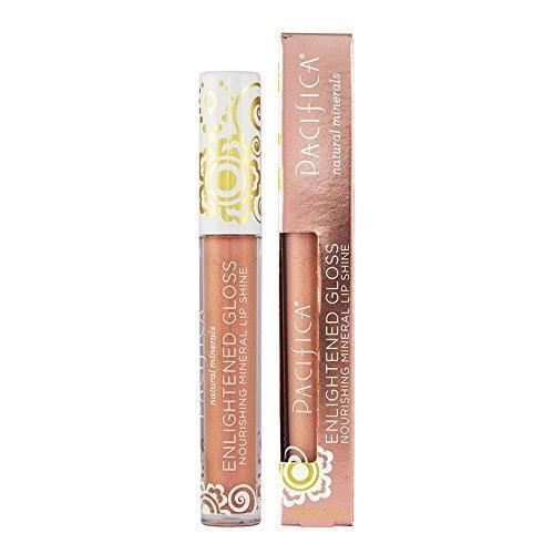 "<p>Made with coconut oil, cocoa butter, and vitamin E, <a href=""https://www.popsugar.com/buy/Pacifica-Beauty-Enlightened-Gloss-Mineral-Lip-Shine-563639?p_name=Pacifica%20Beauty%20Enlightened%20Gloss%20Mineral%20Lip%20Shine&retailer=amazon.com&pid=563639&price=10&evar1=bella%3Aus&evar9=47373452&evar98=https%3A%2F%2Fwww.popsugar.com%2Fbeauty%2Fphoto-gallery%2F47373452%2Fimage%2F47373462%2FThis-Uber-Glossy-Lip-Shine&list1=amazon%2Cvegan%20beauty&prop13=api&pdata=1"" class=""link rapid-noclick-resp"" rel=""nofollow noopener"" target=""_blank"" data-ylk=""slk:Pacifica Beauty Enlightened Gloss Mineral Lip Shine"">Pacifica Beauty Enlightened Gloss Mineral Lip Shine</a> ($10) is a nonsticky gloss that goes on smoothly and keeps the lips hydrated all day.</p>"
