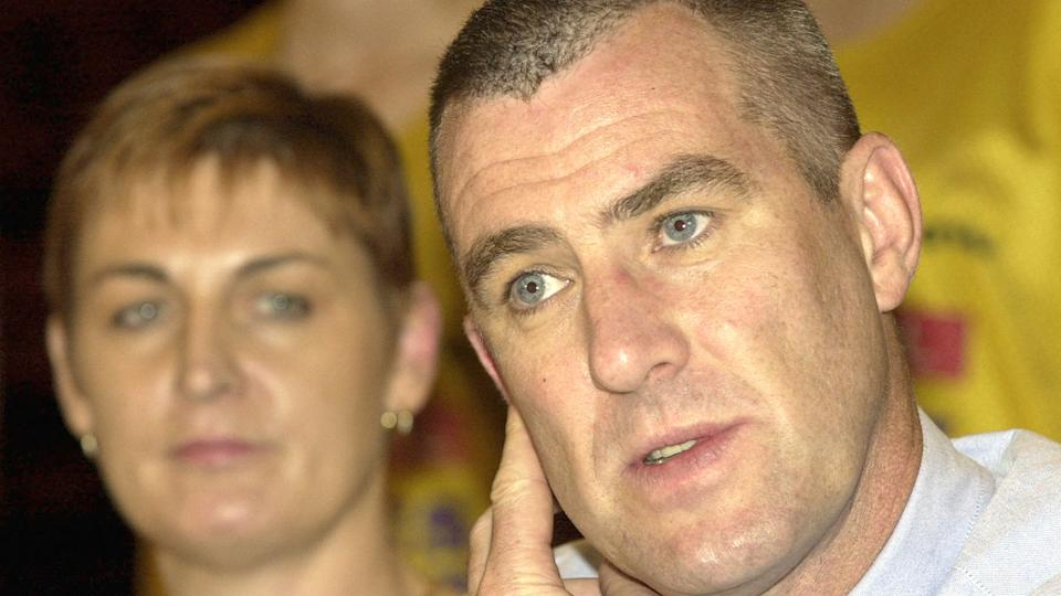 Pictured here, former Australian women's basketball coach Tom Maher.