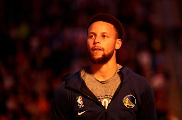 Golden State Warriors star Stephen Curry held an Instagram Live Q&A with top US scientist Anthony Fauci to get answers to coronavirus questions (AFP Photo/EZRA SHAW)