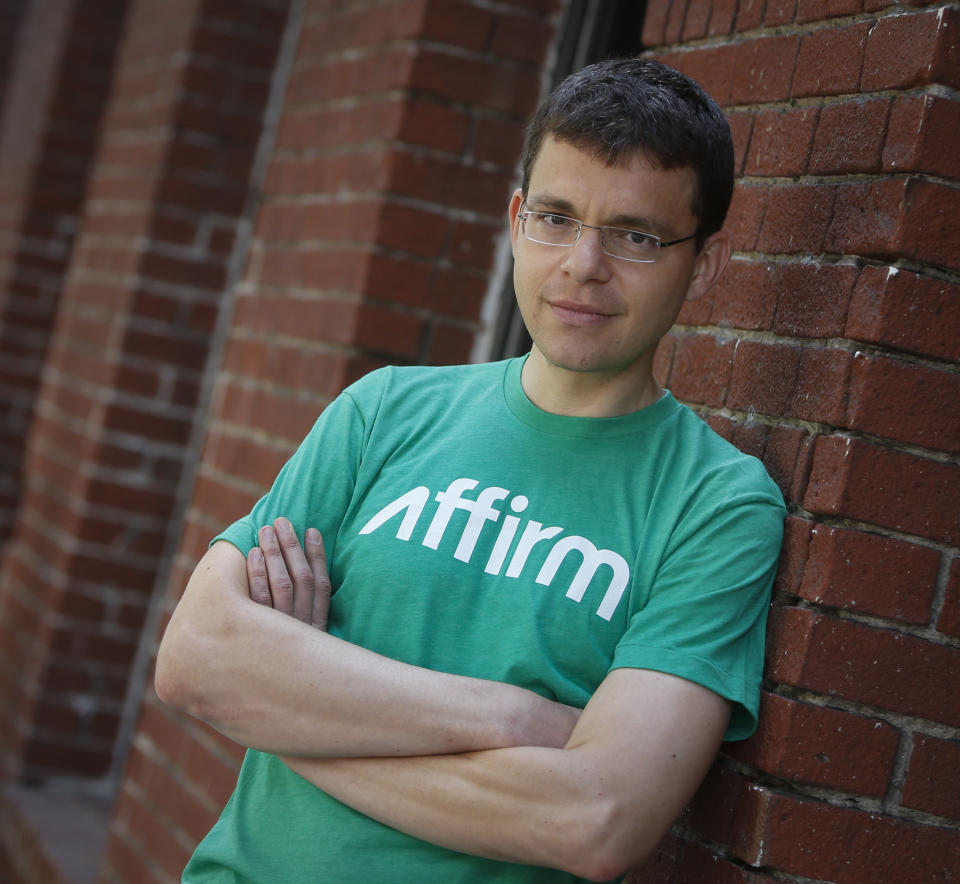 "Max Levchin, a Ukrainian computer scientist, poses for a portrait in San Francisco, Calif., on Friday, July 17, 2014. Levchin, who was the co-founder of PayPal and is the CEO of ""Affirm"", a financial services company offering consumer credit at the point of sale, and chairman of Glow, a women's reproductive health app. (John Green/Bay Area News Group) (Photo by MediaNews Group/Bay Area News via Getty Images)"