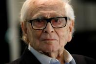 FILE PHOTO: Designer Pierre Cardin attends a fashion collection presentation at his Studio Pierre Cardin in Paris