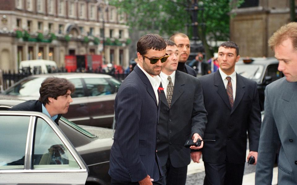 See you at court: George Michael arriving to testify against Sony - Mirrorpix