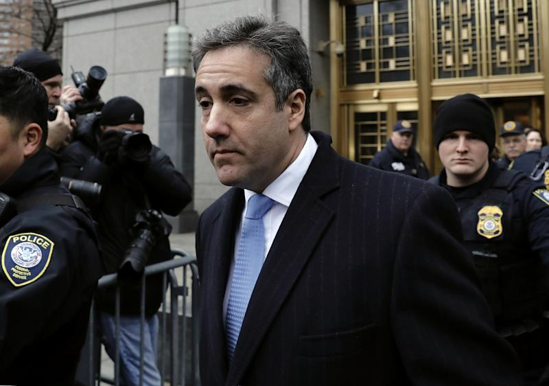 'I never directed Michael Cohen to break the law'
