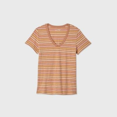 <p>This <span>Universal Thread Short Sleeve V-Neck T-Shirt</span> ($7) is meant to be lived in.</p>