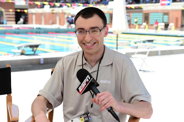"Jason Benetti, the play-by-play announcer for the <a class=""link rapid-noclick-resp"" href=""/mlb/teams/chw"" data-ylk=""slk:Chicago White Sox"">Chicago White Sox</a>, is the new voice of the ""Awkward Moments"" campaign from the Cerebral Palsy Foundation. (Getty)"