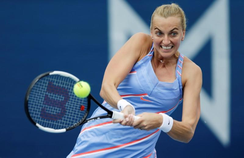 'Weird' playing without fans, but good to be playing again: Kvitova