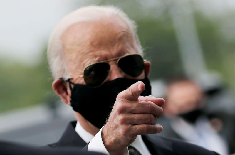 Biden on 100,000 coronavirus deaths: 'To those hurting, the nation grieves with you'